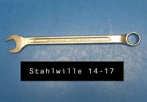 Stahlwille 14 17 Wrench Long Combination Open Box 17mm Type 14 240mm Long
