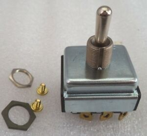 H series Heavy Duty High Voltage 1 hp 3 phase 125 600vac Toggle Switch P n 0716