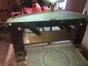 Adana Vintage Paper Cutter Industrial Quality Works Perfect