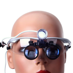 Dental Clinic Surgical Magnifier Binocular Loupes 3 5x r dentist Led Head Light