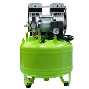 Dental Medical Noiseless Oil Free Oilless Air Compressor Motors 800w F 2 Chairs