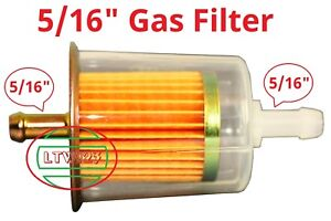 2 5 16 Gas Fuel Filter Industrial High Performance Universal Inline L 4