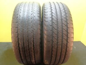 2 Nice Tires Goodyear Fortera Hl 265 50 20 107t 65 Life 18399