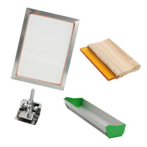 Silk Screen Printing Machine Press Kit Squeegee For T shirt Diy Printer