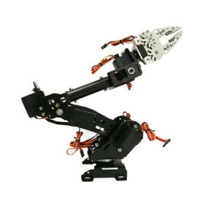 Wieless Control 8 dof Robotic Robot Arm Gripper Kit 3316 Servo Black
