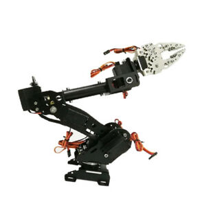 Wieless Control 8 dof Robotic Robot Arm Gripper Kit Mg 996r Servo Black