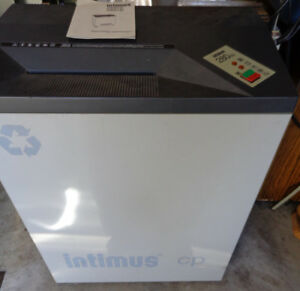 Intimus 280cp Strip Cut Office Paper Shredder