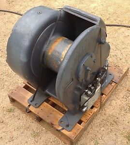 John Deere 6000 Series Two Speed Hydraulic Winch For Dozer Or Skidder