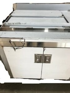 Stainless Steel Cabinet With Ice Bin