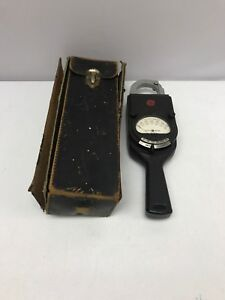 Vintage General Electric Ac Clamp Volt ammeter Model 8ak1aaa1 Type Ak 1