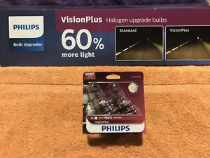 9007vpb2 Philips Headlight Bulbs Vision Plus 60 Brighter Twin Blister Pack