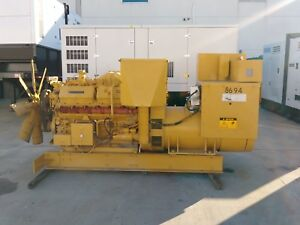 Caterpillar 3412 Diesel Generator Set 600 Kw Standby 480 V Good Used