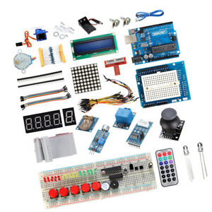 Basic Uno R3 Starter Kit For Arduino 1602 Lcd Servo Motor Relay Rtc Led
