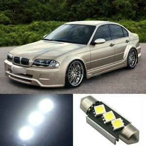 15x White Error Free Led Lights Interior Package For 01 05 Bmw 3 Series E46 M3