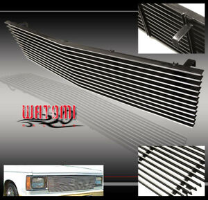 82 90 Chevy Gmc S10 Blazer S15 Jimmy Front Upper Billet Grille Grill 86 87 88 89