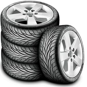 4 New Federal Super Steel 595 195 45r15 78v As Performance A s Tires