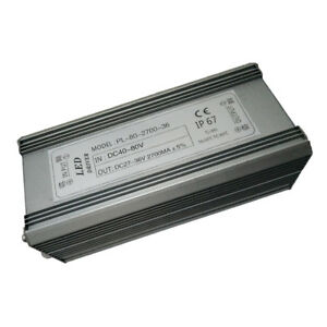 90w 2700ma Constant Current Power Supply Led Driver Transformer Dc 40 80v
