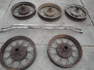 Ford Model A Rims And Front Bumper