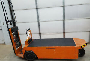 Taylor Dunn Sc1 75 24v Stock Chaser Large Flatbed Electric Cart 1700lb Capacity