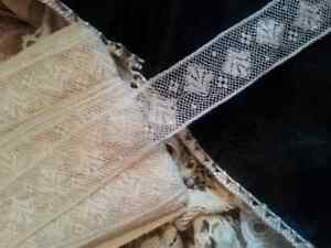 Antique Vtg French Lace Trim Dolls Baby Estate Sewing Costume Per 1 Yard