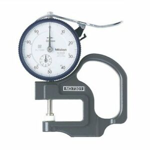 New Japanese Mitutoyo Dial Thickness Gauge 7301 From Japan Import