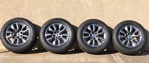 20 Chevy Silverado Tahoe Ltz 2019 Factory Oem Wheels Rims Tires A t New 6x139