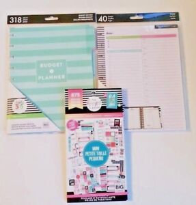 New Happy Planner Accessories Sticker Book Budget Refill Paper Free Ship