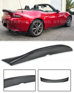 For 16 up Mazda Mx 5 Miata Nd Leg Sport Style Rear Trunk Duckbill Wing Spoiler