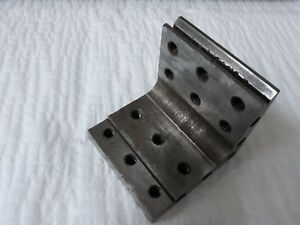 Angle Plate 3 1 4 X3 1 4 X 3 1 4 Precision Ground W Tapped Holes