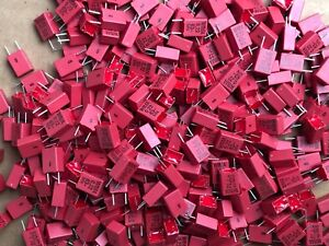 Wima 0 22 63 mn 5 Capacitor Lots Of 350