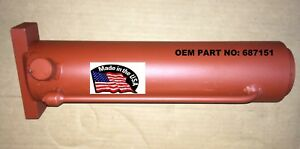 Chief Titan Frame Machine Tower Ram Double Acting Oem Pn 687151 Usa Made
