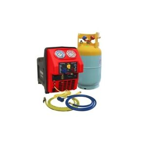 Mastercool Spark Free Twin Turbo Refrigerant Recovery Machine For R1234yf 69391