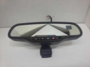 2003 2009 Chevy Gmc Gm Cadillac Truck Rear View Mirror Compass Temperature Oem