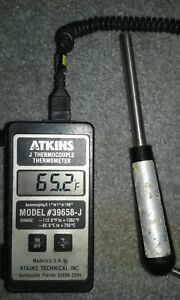 Atkins 39658 j Digital Thermocouple Thermometer