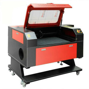 100w Co2 Usb Laser Engraver Cutter Engraving Machine Red Dot Point Rotary Axis
