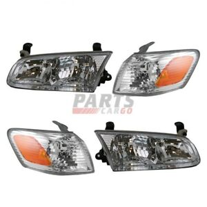 New Turn Signal Light Assembly Front Left Right Fits 2000 2001 Toyota Camry