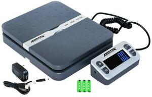 Digital Shipping Postal Scale Gray Accuteck Shippro Gray Two Way Sided Fold New