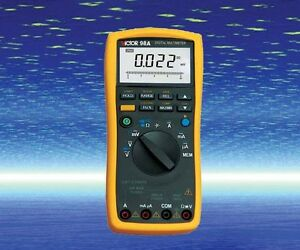 Digital Multimeter Thermocouple K Rtd Pt100 Dc Ac V a Ohm Cap Freq Measure Usb
