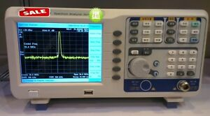 Digital Spectrum Analyzer 9khz 3ghz Tracking Generator 6 5 tftlcd Usb Lan Vga