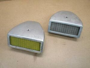 Vintage Hot Rod Air Cleaner Scoop Two Dual Quads Nicson Cal Custom