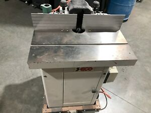 Seco Sk 28 Tilting Spindle Heavy Duty Wood Shaper Nice Condition