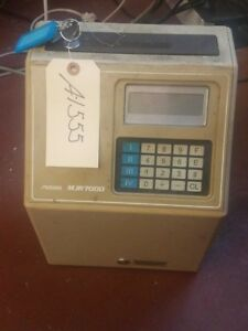 Amano Microder Time Recorder A 1555