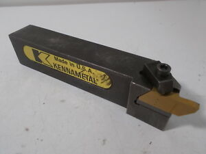 Kennametal Nsl 854d Indexable Toolholder 1 X 1 1 4 Shank 6 Oal