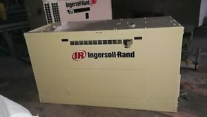 Ingersoll Rand 170cfm Skid Mounted John Deere Diesel Air Compressor Only 1090hrs