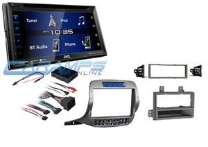 New 6 8 Jvc Car Stereo W Radio Sirius Xm Bluetooth W Install Kit For Camaro