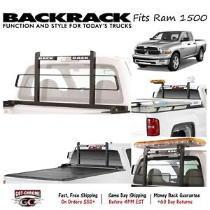 15006 Backrack Black Original Headache Rack Fits Dodge Ram 1500 2002 2010