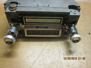 1966 Ford Mustang Am 8 Track Player Oem