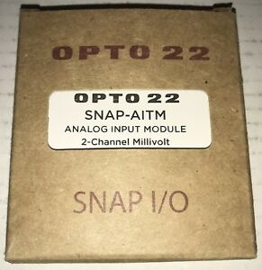Opto22 Snap aitm 2 ch Thermocouple Analog Input Module new In Box