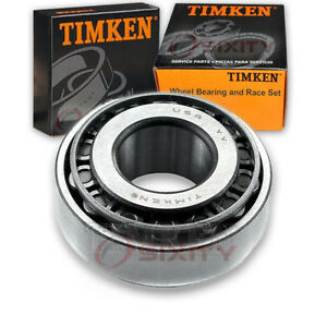 Timken Front Outer Wheel Bearing Race Set For 1962 1966 Oldsmobile Dynamic Bf