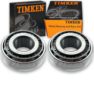 Timken Front Outer Wheel Bearing Race Set For 1962 1966 Oldsmobile Dynamic Eq